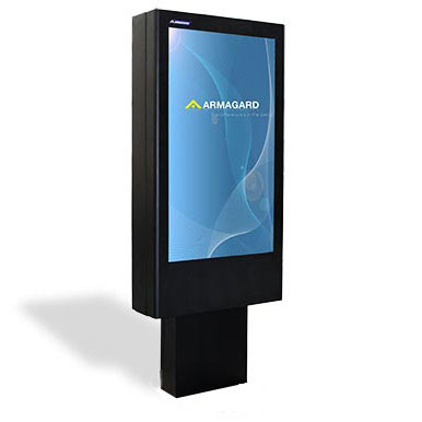 Outdoor Digital Signage Totem Esterni Armagard It