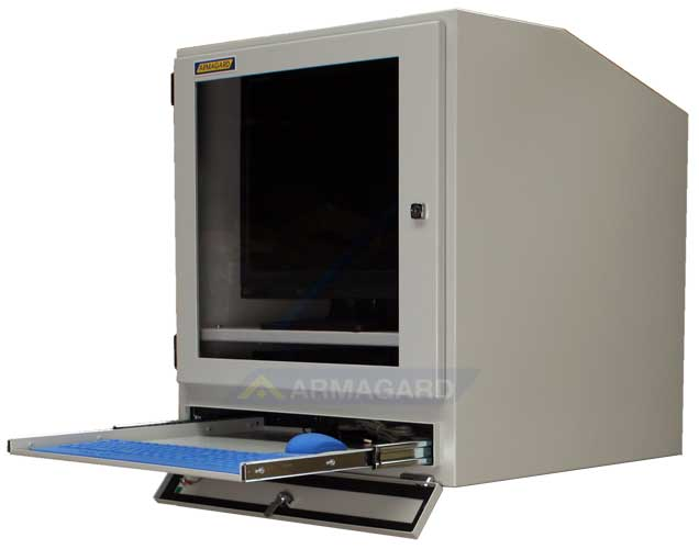 mensola porta computer : Armadio porta computer (computer cabinet) Armadio IP54 per computer ...