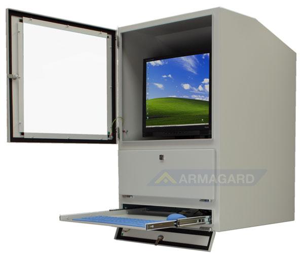 mensola porta computer : ... computer (computer enclosure)- con porta e mensola porta tastiera