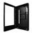 Immagine frontale del pannello di protezione per monior verticali,aperto   PDS-W-P [product image]