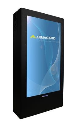 Pannello di protezione per monitor verticali   PDS-W-P