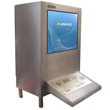Airtight computer enclosure SAT 600