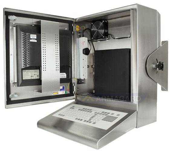Armadio Pc Acciaio Inox.Armadio Pc Ip65 Compatto Compact Waterproof Enclosure