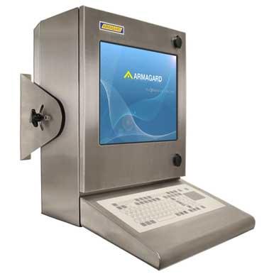 Armadio PC IP56 compatto (compact waterproof enclosure) - SENC-300 immagine frontale