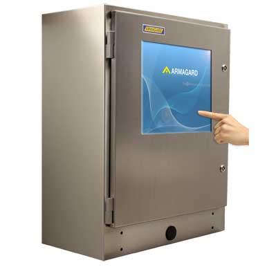 SENC-750 touch screen IP65
