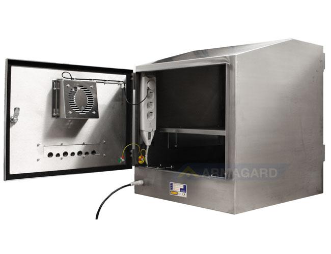 Armadio Pc Acciaio Inox.Armadio Pc Acciaio Inox Protezione Per Computer E Monitor