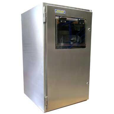 Protezione per stampante in accaio inox SPRI-700 (stainless steel printer enclosure) | Serie SPRI-700